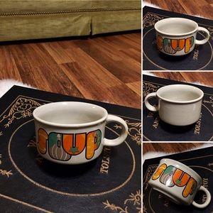 🦋2/$10 3/$15 4/$18 5/$20 Vintage Soup Mug